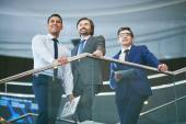 Group of business partners — Stock Photo