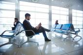 People in waiting room — Stock Photo