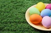 Farbige ostereier — Stockfoto