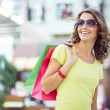 Woman with shopping bags — Stock Photo #66457795