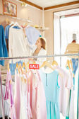 Sale of summer collection — Stock Photo