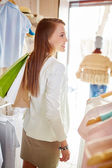 Shopper with shopping bags — Stock Photo