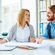 Business people talking — Stock Photo #69404661