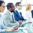 Attentive Business  people — Stock Photo #69406323