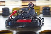 Business is like kart racing — 图库照片