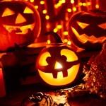 Halloween holiday symbols — Stock Photo #79701314
