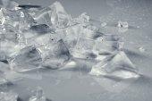 Pile of crushed   ice — Stock Photo