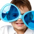 Little child with sunglasses — Stock Photo #56143403
