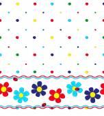 Pattern  flowers — Stock Vector