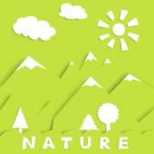 Nature green — Stock Vector