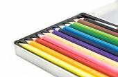 Pencil in box — Stockfoto