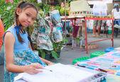 Enfant peinture — Photo