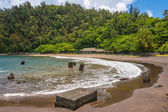 The beach of Hana, Maui — Stock Photo