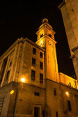The bell tower in the dark, Turin — Stock Photo