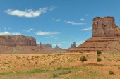 Panorama of Monument Valley — Stock Photo