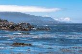 The coast of Pacific Grove, California — Stock Photo