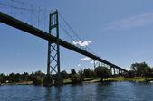 The Thousand Island International Bridge — Stock Photo