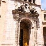 The entrance of Carmelite Monastery in San Francisco — Stock Photo #65148843