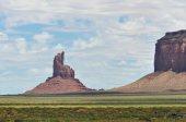 Buttes in Valle del monumento — Foto Stock