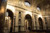 The inside of the Church of San Filippo Neri, Turin — Fotografia Stock