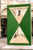 The big Hourglass in Turin — Stockfoto