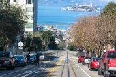 Hyde Street in San Francisco — Stock Photo