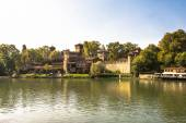 Castle in the Medieval Village, Turin — Stock Photo