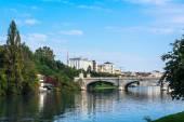 The bridge over the Po River, Turin — Stok fotoğraf