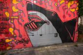 Murals in San Francisco — Stock Photo