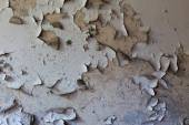 Old cracked and dilapidated wall of the building — Stok fotoğraf