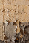 Old cracked and dilapidated wall  — Stockfoto