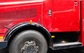 Detail of old truck close up — Stock Photo