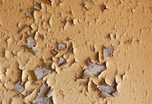 Old cracked and dilapidated wall of building — Foto de Stock