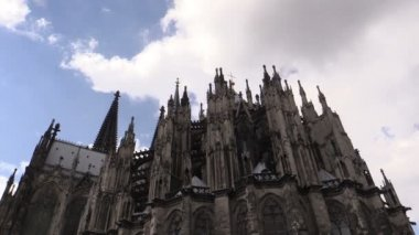 Cologne Cathedral in Cologne, Germany — Stock Video