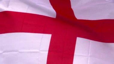 英国国旗在风中 — 图库视频影像