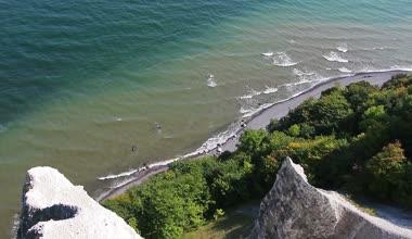 Rocks on island Ruegen — Stock Video