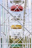 Old Scuffed Soviet Panoramic Wheel — Stock Photo
