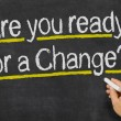 Are you ready for a Change? — Stock Photo #53040823