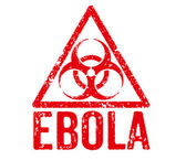 Red Stamp - Ebola — Stockfoto