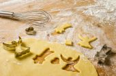 Butter cookies — Stock Photo