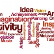 Word Cloud - Creativity — Stock Photo #58362933