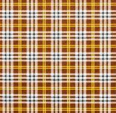 Fabric with a checked pattern in brown tones — Stock Photo