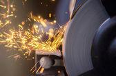 Tool grinding metal — Stock Photo