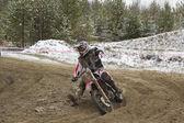 Motocross. — Foto Stock