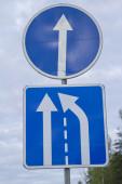 Señal de tráfico. — Foto de Stock