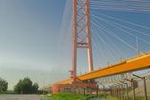 Bridge on the River. — Stock Photo