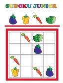 Sudoku junior — Stockfoto