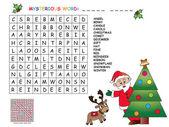 Game for children for christmas — Stock Photo