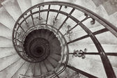 Spiral stairs — Stock Photo