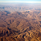 Beautiful view from the plane — Stock Photo